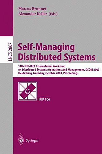 Self Managing Distributed Systems International Operations Pdf
