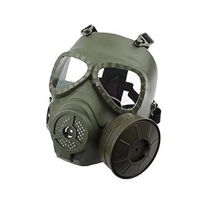 Máscara M04 de protección para paintball con diseño de máscara de gas, de H World EU, antiniebla, con turbo ventilador, hombre, DE: Amazon.es: Deportes y ...