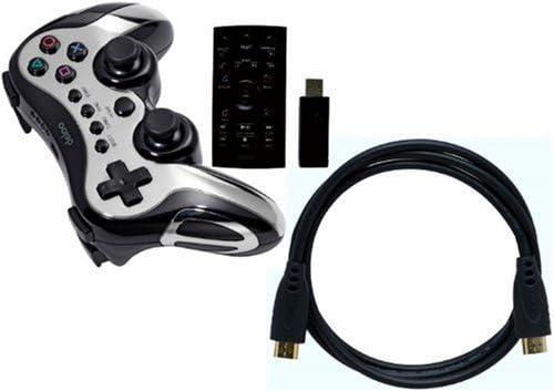deloo PS3 Starter Pack: Wireless Controller, HDMI Cable and Media Remote Control (PS3) [Importación inglesa]: Amazon.es: Videojuegos