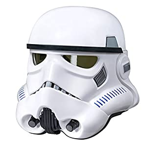 Star Wars The Black Series Imperial Stormtrooper Electronic Voice Changer Helmet - 41FVMssKN9L - Star Wars B7097 Imperial Stormtrooper Electronic Voice Changer Helmet (Amazon Exclusive)