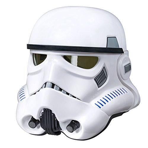 Star Wars The Black Series Rogue One: A Star Wars Story Imperial Stormtrooper Electronic Voice Changer Helmet (Star Wars Roleplay) (Amazon ()