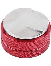 Distribuidor de café Tamper de café inteligente de acero inoxidable Base de 58 mm con herramienta niveladora de tres pendientes anguladas para café molido