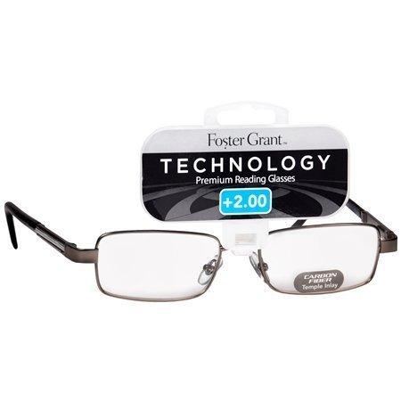 Foster Grant Technology Metal Premium Reading Glasses Jagger +1.50 - Reading Glasses Premium