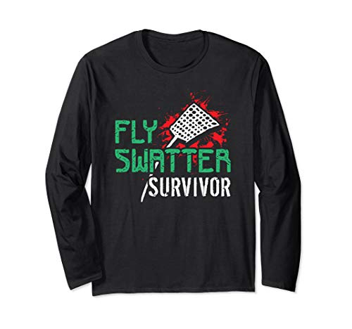 Fly Swatter Survivor T Shirt 21217