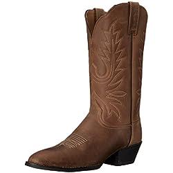 Ariat Heritage Western R Toe, color marrón