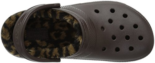 black CROCS ANIMAL CLASSIC CLOG Multicolore LINED espresso XPPvwrnpqx