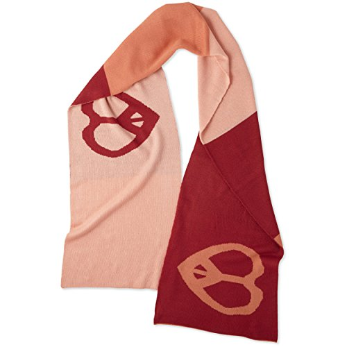 Life is Good Women's Love Frscrl Scarf, Fresh Coral, One Size