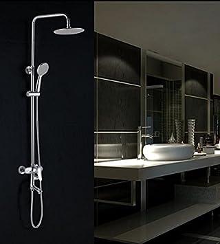 Caribou 3 Setting Soild Brass Bathroom Shower System Water Saving - Water-saving-set-for-the-bathroom
