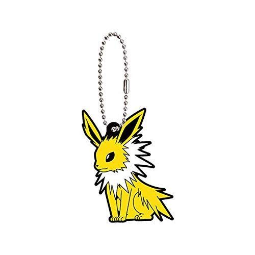 Bandai Pokemon Eevee Special Jolteon Character Gacha Capsule Rubber Key Chain Mascot Collection Anime Art Ver.2 (Pokemon Mystery Dungeon Explorers Of Sky Lucario)