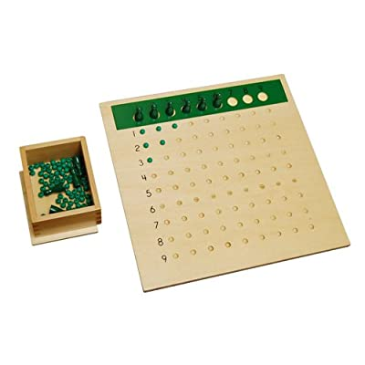 Kid Advance Montessori Division Bead Board: Toys & Games