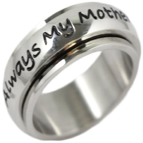 Always My Mother Forever Friends Spinner Ring - Mother Spinner Ring - Mother Daughter Gifts