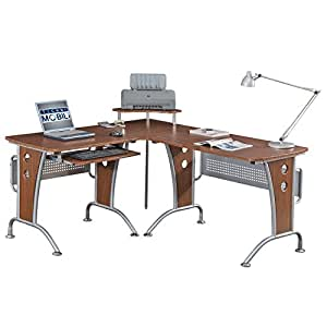 Space Saver Computer L Desk