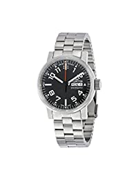 Fortis Spacematic Automatic Black Dial Mens Watch 623.10.41 M