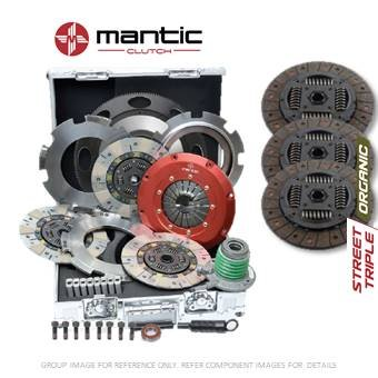 Mantic Track - Kit de embrague premium para GM – Mantic aluminio Billet cubierta de montaje