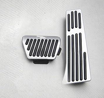 Für 1 2 3 4 5 6 7 Series X1 X3 X4 X5 X6 F30 F31 Auto Bremse Gaspedal Pedalabdeckung Pedalkappe Pedalset Aluminiumlegierung Ppe Gleitschutz At Zwei Auto