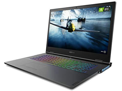 Lenovo Legion Y740 Gaming Laptop, 17.3 inches FHD (1920 x 1080), 9th Gen Intel Core i7-9700H, 16GB RAM, 256GB SSD + 1TB Hard Drive, NVIDIA GeForce RTX 2070 with Max-Q, Windows 10 (Renewed)