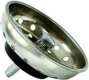 Danco 88275 8,8 cm escorredor para pia de cozinha com haste fixa, aço inoxidável