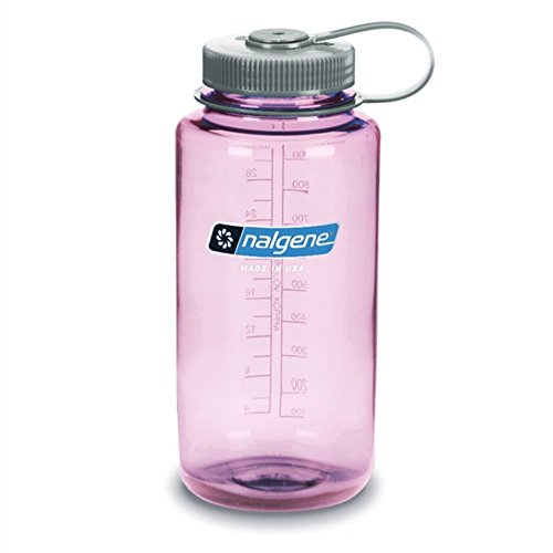 NALGENE Everyday Tritan Wide Mouth Travel Water Bottle – 32 oz – Cosmo w/Platinum Cap