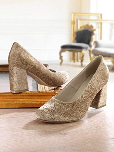 Damen Design extravagantem KLiNGEL by Pumps Brokat in wdqpxP8p