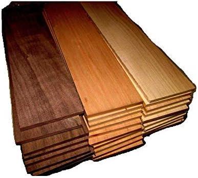SAPPY Walnut 12 X 3 X 1//2 Lumber KILN Dried 10 Piece of Thin Sanded