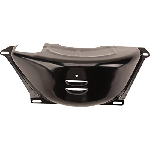 GM TH-350/TH-400 Flywheel/Flexplate Dust Cover, Black