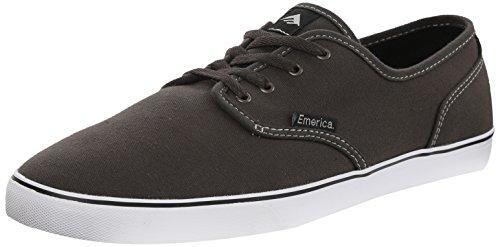 Emerica Wino Cruiser - Zapatillas de skate para hombre gris y blanco
