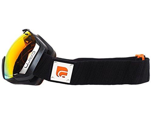 Cairn - Cairn Stratos Spx3i Spx3000ium Mat Black Orange Masque MAT BLACK ORANGE