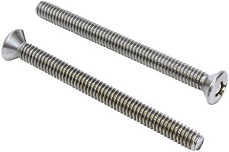"1//4/""-20 x 3-1//2/"" Phillips Flat Head Machine Screws Stainless Steel Qty 100"