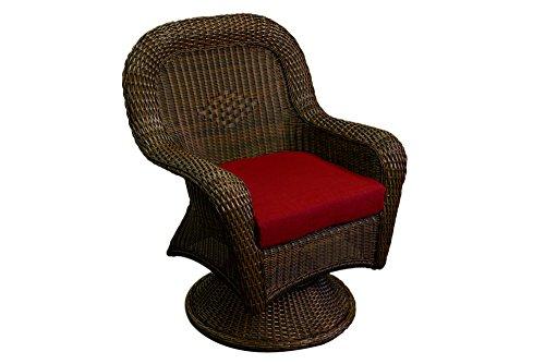 Tortuga Outdoor Garden Patio Lexington Swivel Rocking Dining Chair - Mojave