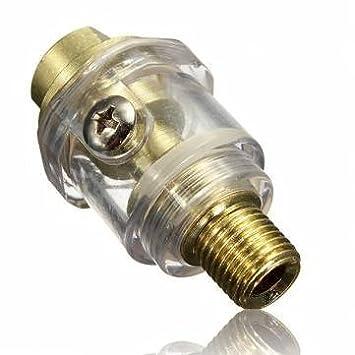 1/4 BSP MINI engrasador en línea para & para herramientas neumáticas Compresor De Aire