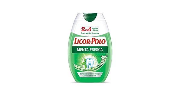 Licor Del Polo 2 En 1 Menta Fresca Dentífrico 75ml: Amazon.es ...