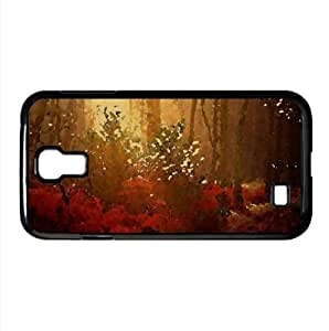 Autumn Forest Watercolor style Cover Samsung Galaxy S4 I9500 Case (Autumn Watercolor style Cover Samsung Galaxy S4 I9500 Case)