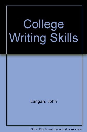 College writing skills, with readings