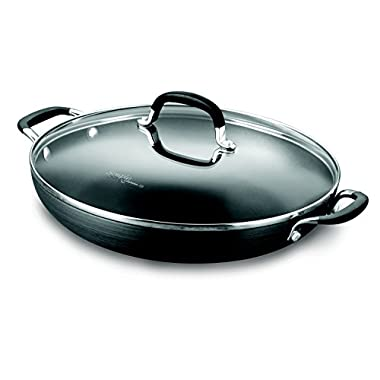 Simply Calphalon Nonstick 12-in. Everyday Pan & Cover