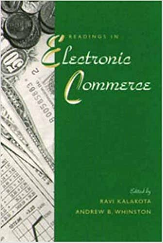 Frontiers of Electronic Commerce