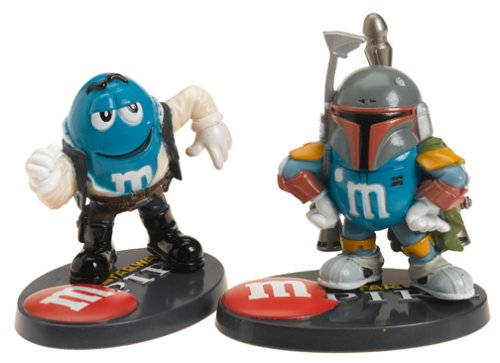 Star Wars M/&Ms M-Pire 2-pack Han-Solo and Boba Fett