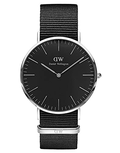 🥇 Daniel Wellington Classic Cornwall – Reloj de Pulsera para Hombre