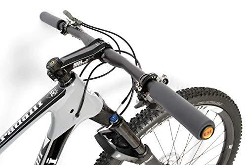 Stradalli 29er Gray XC Carbon Dual Suspension Mountain Bike ...