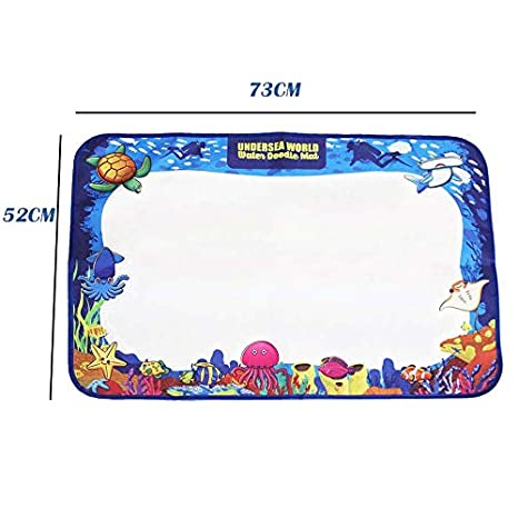 2018 Enhanced Water Doodle Mat Extra Large Kids Educational Learning Toy Gift for Boys Girls Toddlers Age 2 3 4 5 Year Old Toddler Toys Painting Board Writing Mats Autbye Tech Drawing Magic Mat Autbye Type2
