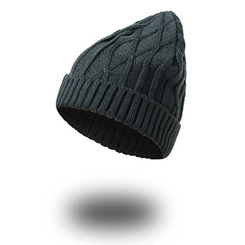 MASTER beanie caliente Navidad de beige Dark Men sombreros Halloween sombreros Señoras gorros Gray prendas invierno señoras sombreros ww4Urqp