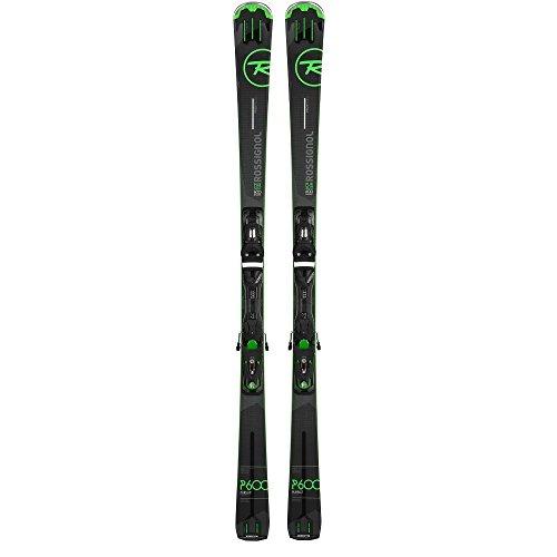 2016 Rossignol Pursuit 600 Basalt 177cm Men's Skis w/ Axial 120 Bindings 177