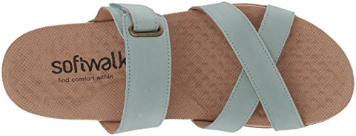 Aqua Women's SoftWalk Mule Brimley Mule Women's Brimley Aqua SoftWalk wpqU1UEB