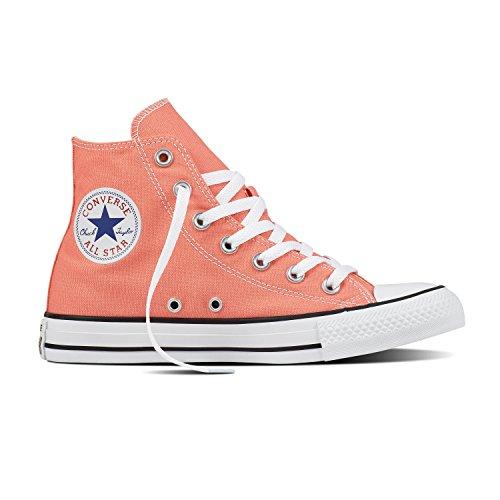 (Converse Chuck Taylor All Star Seasonal Colors High Top Shoe Sunblush Men's 6/Women's)