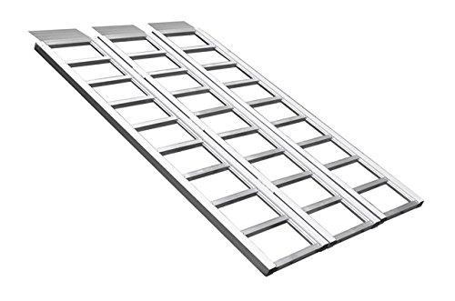 Field Tuff ALR-6945B3 Tri-Fold Aluminum Ramp, 45-Inch