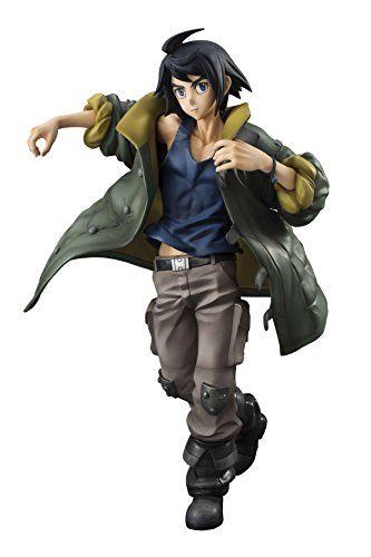 - Megahouse Mobile Suit Gundam Iron-Blooded Orphans Mikazuki Augus GEM PVC Figure