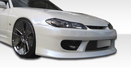 - 1989-1994 Nissan 240sx S15 Duraflex V-speed Conversion- Includes V-Speed Front Bumper (103562), S15 OEM Fiberglass Hood (100889) , and S15 OEM Fenders (100879) - Duraflex Body Kits