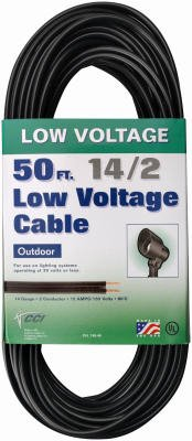Coleman Cable 14/2 Low Voltage Lighting Cable