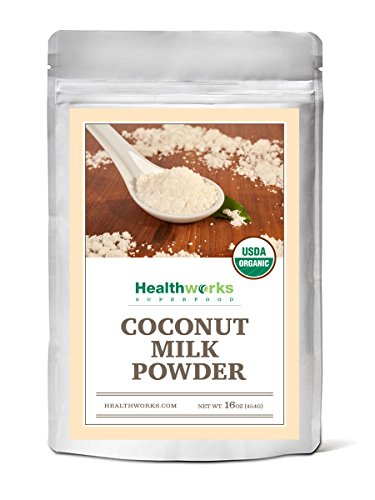 Ice Cream Almond Milk - Healthworks Coconut Milk Powder Organic (Dairy-Free), 1lb