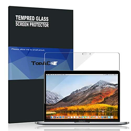 価値最大開梱MacBook Pro 13 2018 フィルム TopACE 硬度9H 超薄0.33mm 2.5D 耐衝撃 撥油性 超耐久 耐指紋 日本旭硝子素材採用 飛散防止処理保護フィルム MacBook Pro 13 2018対応