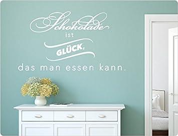 I Love Wandtattoo 11844 Wandtattoo Küche U0026quot;Schokolade Ist Glück, Das Man